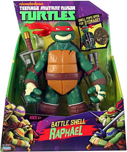 Teenage Mutant Ninja Turtles Nickelodeon 11 Inch Battle Shell Raphael Action Figure