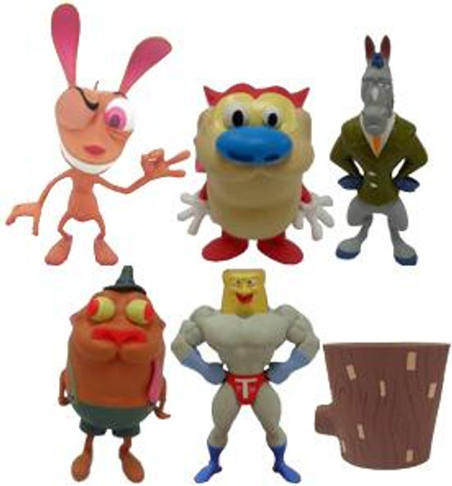 NickToons Ren & Stimpy Collector 2-Inch Mini Figures