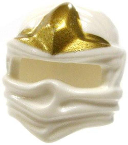 LEGO Ninjago Headgear White Ninja Wrap with Gold Three Point Star [Loose]