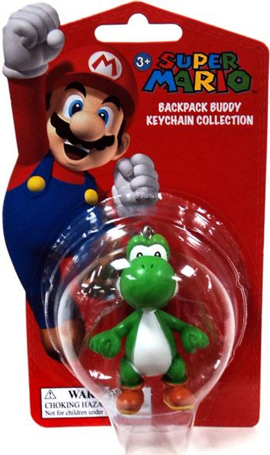 Super Mario Backpack Buddy Collection Yoshi 2-Inch Keychain