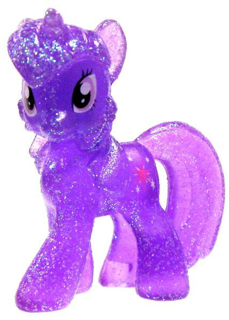 My Little Pony Friendship is Magic 2 Inch Twilight Sparkle Exclusive PVC Figure [Crystal Glitter]