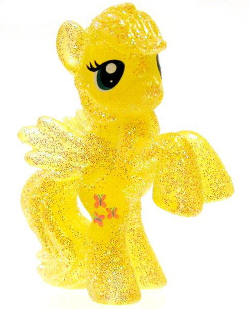 My Little Pony Friendship is Magic 2 Inch Fluttershy Exclusive PVC Figure [Crystal Glitter]