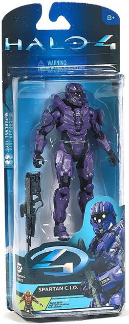 McFarlane Toys Halo 4 Series 2 Spartan CIO Action Figure [Violet]