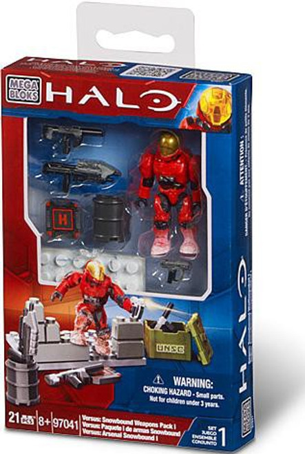 Mega Bloks Halo Versus: Snowbound Weapons Pack 1 Exclusive Set #97041