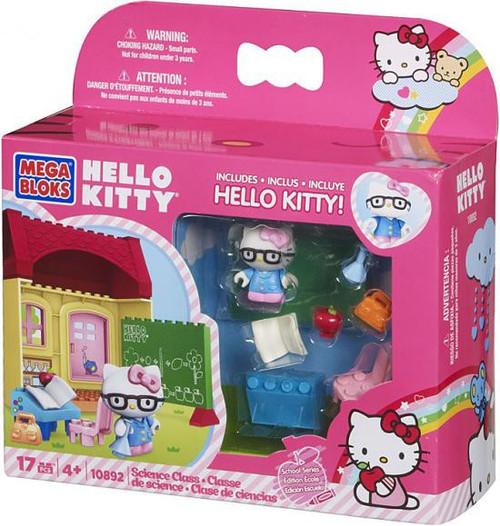 Mega Bloks Hello Kitty School Series Science Class Set #10892