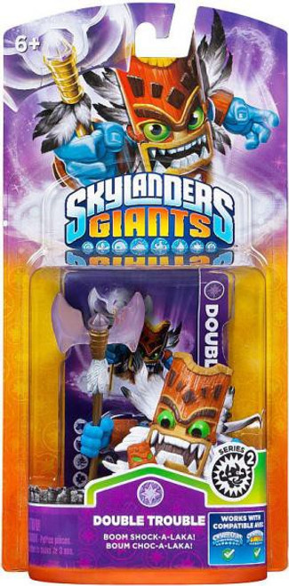 Skylanders Giants Series 2 Double Trouble 2 Figure Pack