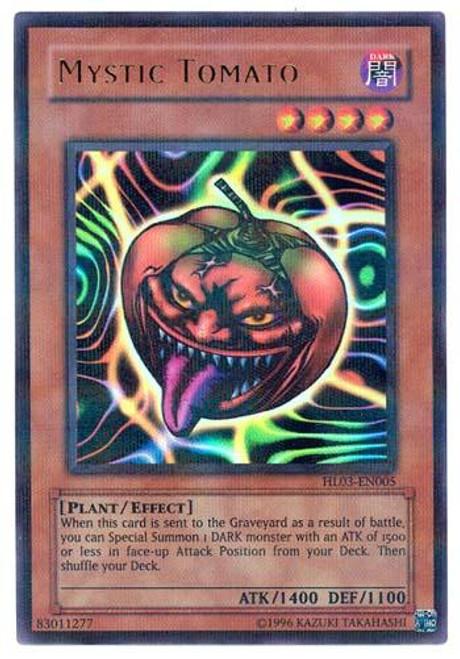 YuGiOh Hobby League Parallel Rare Mystic Tomato HL03-EN005