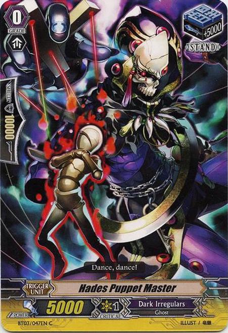 Cardfight Vanguard Demonic Lord Invasion Common Hades Puppet Master BT03-047
