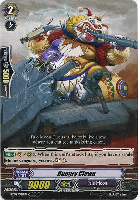 Cardfight Vanguard Demonic Lord Invasion Common Hungry Clown BT03-051