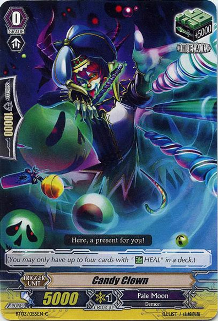 Cardfight Vanguard Demonic Lord Invasion Common Candy Clown BT03-055