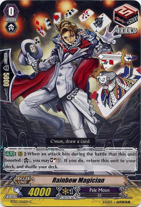Cardfight Vanguard Demonic Lord Invasion Common Rainbow Magician BT03-056
