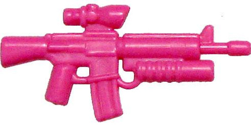 BrickArms Weapons M16-AGL ACOG Scope & Grenade Launcher 2.5-Inch [Pink]