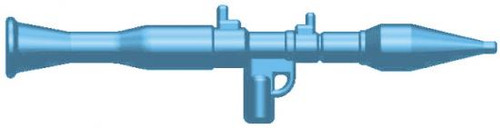 BrickArms Weapons RPG-7 2.5-Inch [Light Blue]