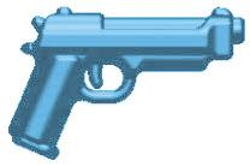 BrickArms Weapons M9 2.5-Inch [Light Blue]