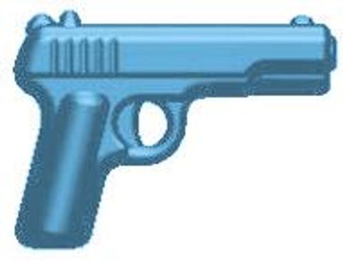 BrickArms Weapons TT-33 Tokarev 2.5-Inch [Light Blue]
