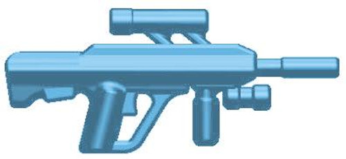 BrickArms Weapons ABR Advanced Battle Rifle 2.5-Inch [Light Blue]