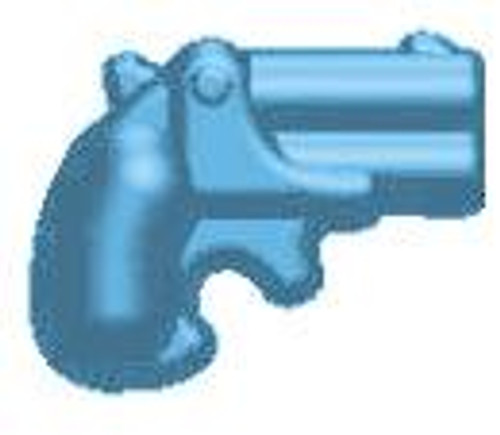 BrickArms Weapons Derringer 2.5-Inch [Light Blue]
