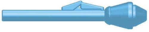 BrickArms Weapons Panzerfaust 2.5-Inch [Light Blue]