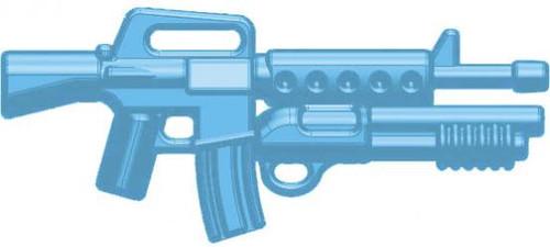 BrickArms Weapons M16-DBR Masterkey 2.5-Inch [Light Blue]