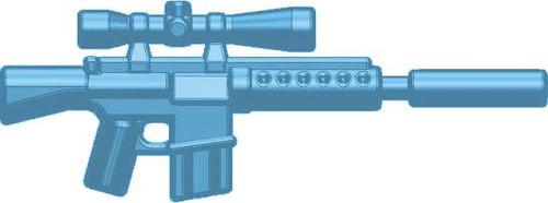 BrickArms Weapons M110 SASS 2.5-Inch [Light Blue]