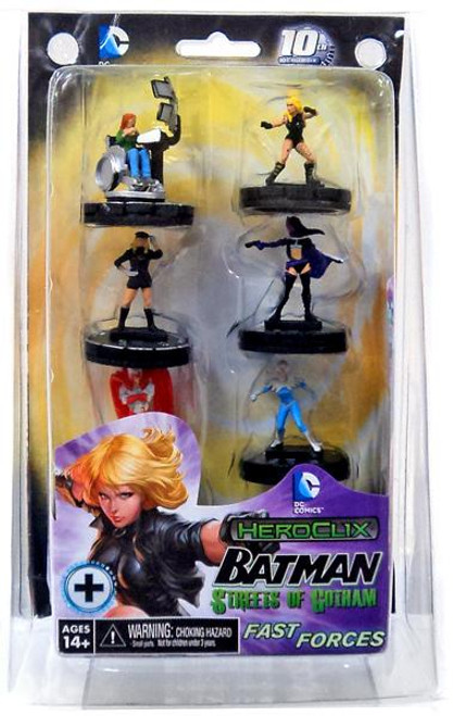 DC HeroClix Batman Streets of Gotham Fast Forces Starter Set