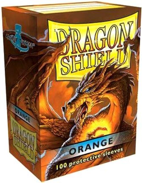 Card Supplies Dragon Shield Orange Standard Card Sleeves [100 ct]
