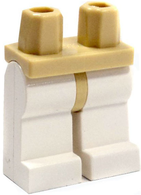 LEGO Star Wars Minifigure Parts Tan Hips with White Legs Loose Legs [Loose]