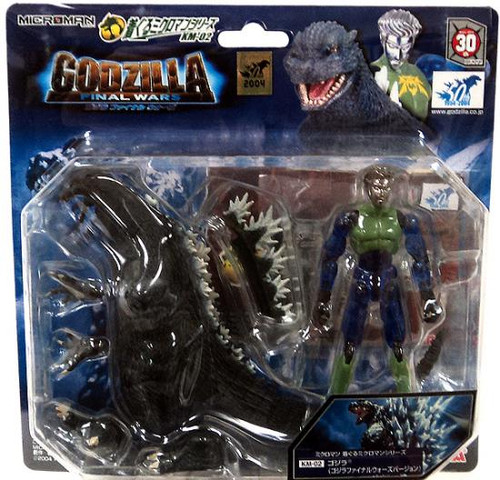 Microman Godzilla Figure KM-02 [Final Wars Version]