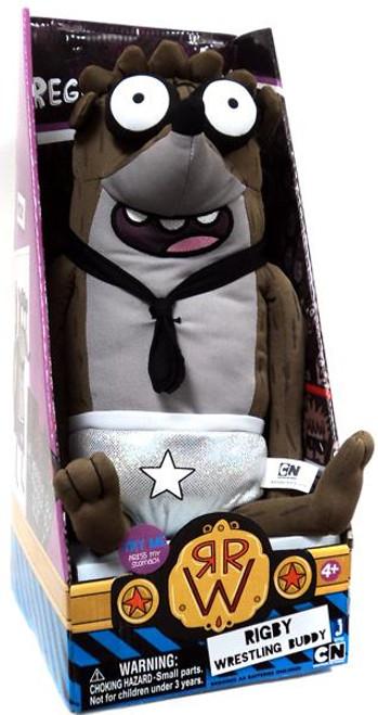 Cartoon Network Regular Show Wrestling Buddies Rigby 20-Inch Plush