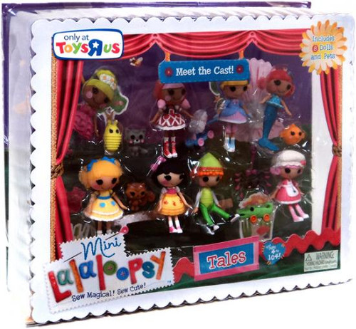 Lalaloopsy Meet the Cast Exclusive 3-Inch Mini Figure Set