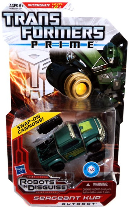 Transformers Prime Robots in Disguise Sergeant Kup Deluxe Action Figure