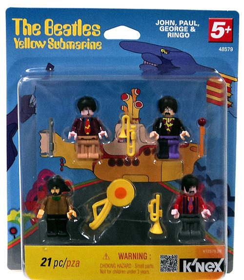 K'NEX The Beatles Series 1 Yellow Submarine Set #48579