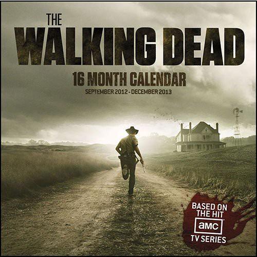 NECA AMC TV The Walking Dead 16 Month Calendar