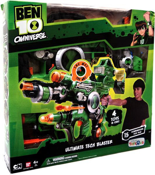Ben 10 Omniverse Ultimate Tech Blaster Exclusive Roleplay Toy