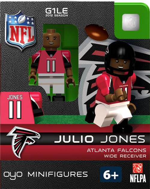 Atlanta Falcons NFL Generation 1 2012 Season Julio Jones Minifigure