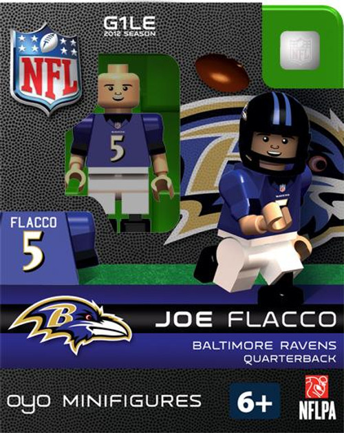 Baltimore Ravens NFL Generation 1 2012 Season Joe Flacco Minifigure