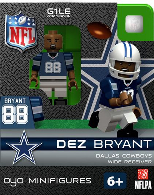 Dallas Cowboys NFL Generation 1 2012 Season Dez Bryant Minifigure