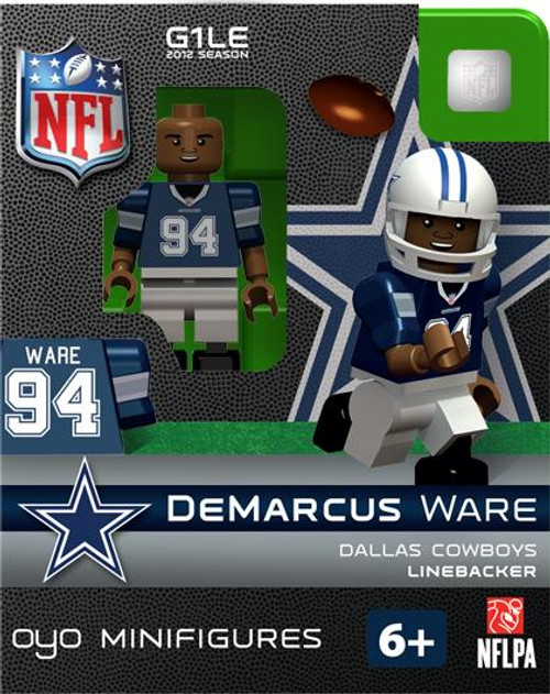 Dallas Cowboys NFL Generation 1 2012 Season DeMarcus Ware Minifigure