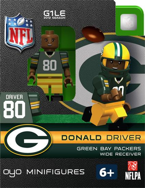 Green Bay Packers NFL Generation 1 2012 Season Donald Driver Minifigure