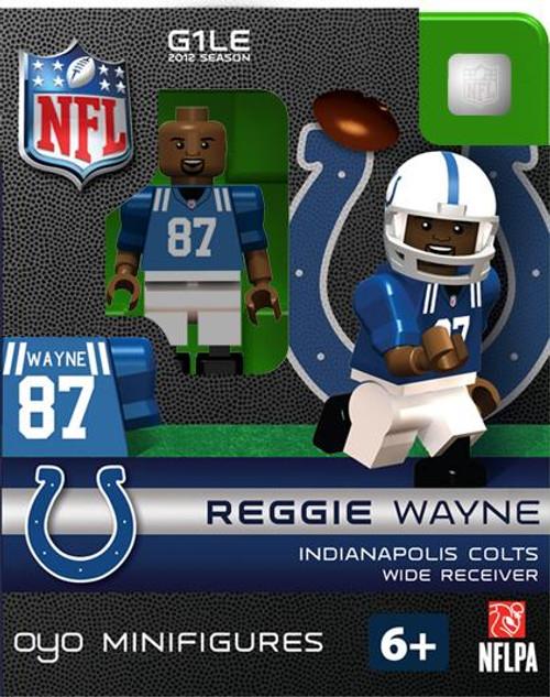 Indianapolis Colts NFL Generation 1 2012 Season Reggie Wayne Minifigure