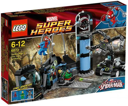 LEGO Marvel Super Heroes Ultimate Spider-Man Spider-Man's Doc Ock Ambush Exclusive Set #6873