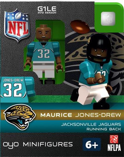 Jacksonville Jaguars NFL Generation 1 2012 Season Maurice Jones-Drew Minifigure