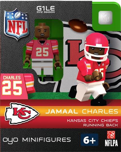 Kansas City Chiefs NFL Generation 1 2012 Season Jamall Charles Minifigure