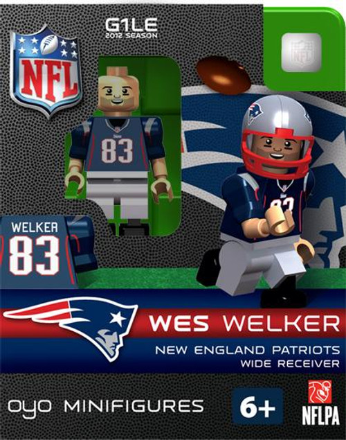 New England Patriots NFL Generation 1 2012 Season Wes Welker Minifigure