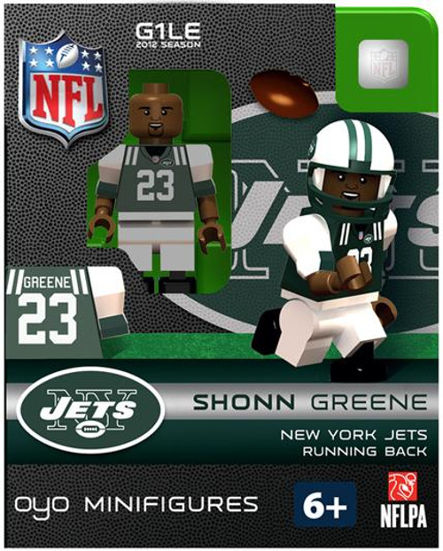 New York Jets NFL Generation 1 2012 Season Shonn Greene Minifigure
