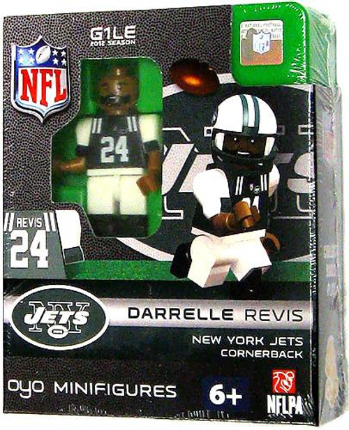 New York Jets NFL Generation 1 2012 Season Darrelle Revis Minifigure