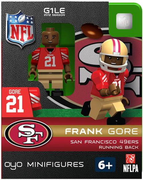 San Francisco 49ers NFL Generation 1 2012 Season Frank Gore Minifigure