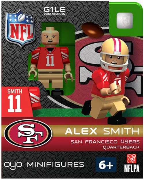 San Francisco 49ers NFL Generation 1 2012 Season Alex Smith Minifigure