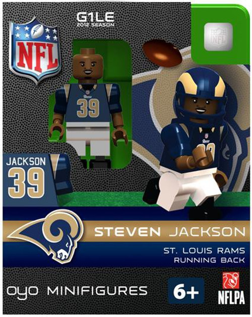 St. Louis Rams NFL Generation 1 2012 Season Steven Jackson Minifigure
