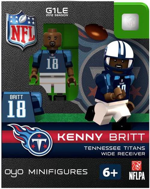 Tennessee Titans NFL Generation 1 2012 Season Kenny Britt Minifigure